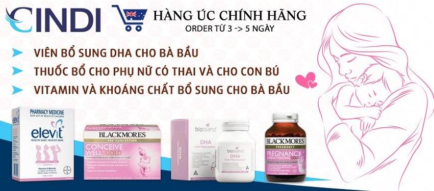 Cindi - Dịch vụ gửi hàng Úc về tận nhà tại Vietnam